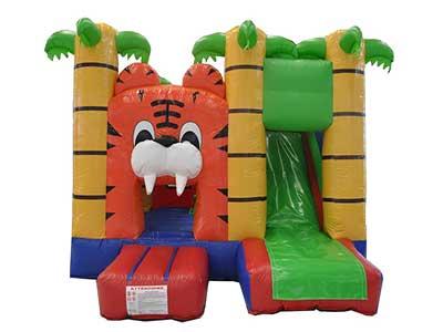 Castello Con Scivolo Tigre