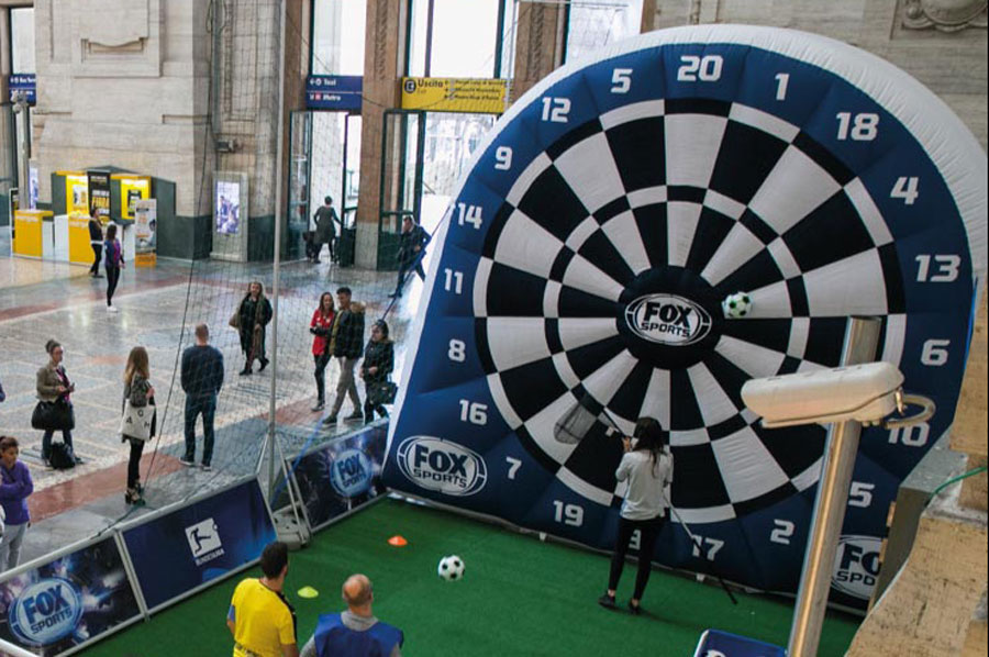 Gioco Gonfiabile Foot Darts
