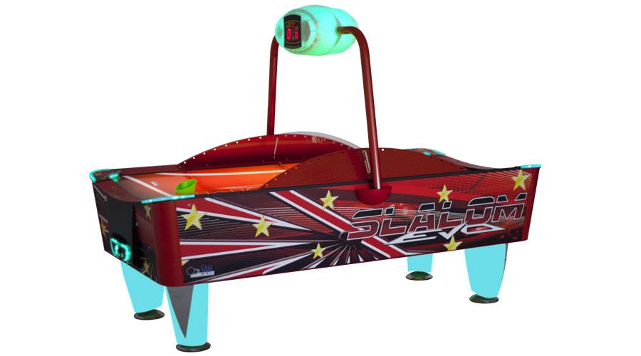 Airhockey Slalom Evo